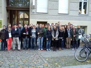 Degrowth war das Thema dieser Gruppe von der Friedrich-Ebert-Stiftung 2012