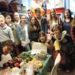 Schulgruppe der kath. Bonifatiusschule Hamburg 2015